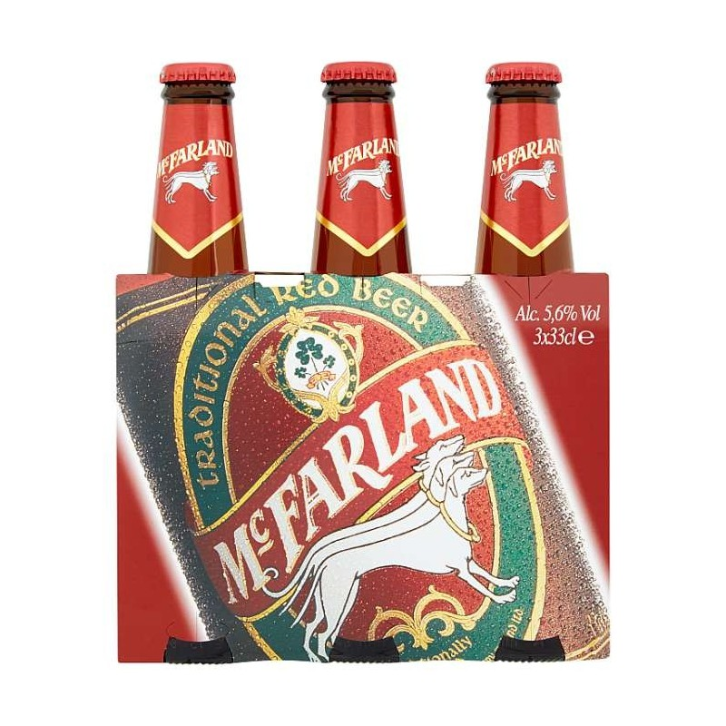McFarland Traditional red...